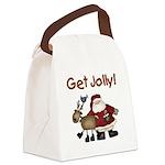 getjollytees.png Canvas Lunch Bag
