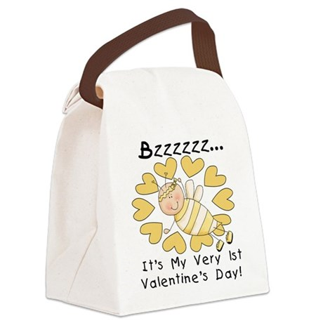 beefirstvaleday.png Canvas Lunch Bag