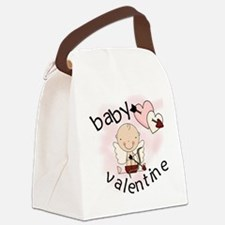 BABYVALENTINE.png Canvas Lunch Bag