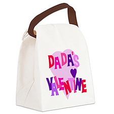 Dada's Valentine Canvas Lunch Bag