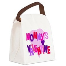 mommysvalentine.png Canvas Lunch Bag