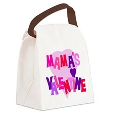 Mama's Valentine Canvas Lunch Bag