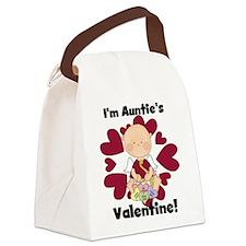 Boy Auntie's Valentine Canvas Lunch Bag