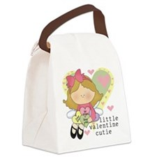 LITTLEVALCUTIE.png Canvas Lunch Bag