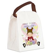 sweetlittlevalentine.png Canvas Lunch Bag