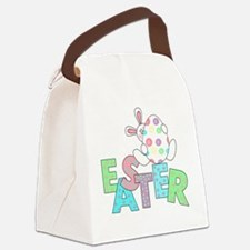 WHITERABBITEASTERTEE.png Canvas Lunch Bag