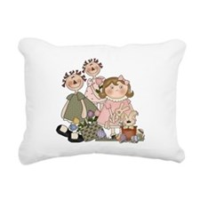 EASTERFRIENDS.png Rectangular Canvas Pillow