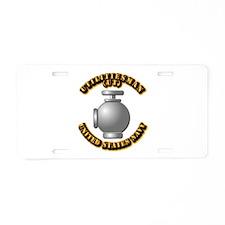 Navy - Rate - UT - 1 Aluminum License Plate