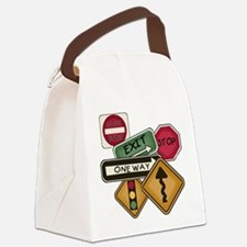 TPSIGNSTEE.png Canvas Lunch Bag