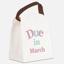 pinkduemarch.png Canvas Lunch Bag