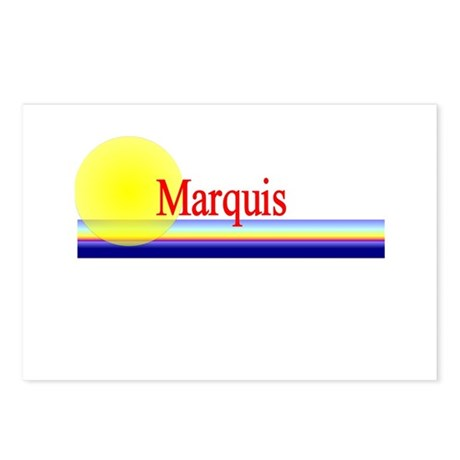 Marquis Postcards (Package of 8)