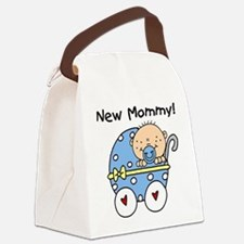 BUGGYNEWMOMBABYBOY.png Canvas Lunch Bag