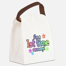 FIRSTTIMEMOMMY.png Canvas Lunch Bag