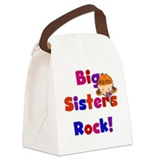 bigsistersrock.png Canvas Lunch Bag