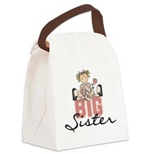 bigsisterroses.png Canvas Lunch Bag