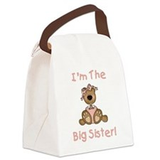 BEARBIGSISTER.png Canvas Lunch Bag