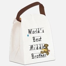 middlebrotherruledtext.png Canvas Lunch Bag