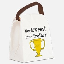 worldbestlittlebrotee.png Canvas Lunch Bag