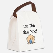 iamnewbro.png Canvas Lunch Bag