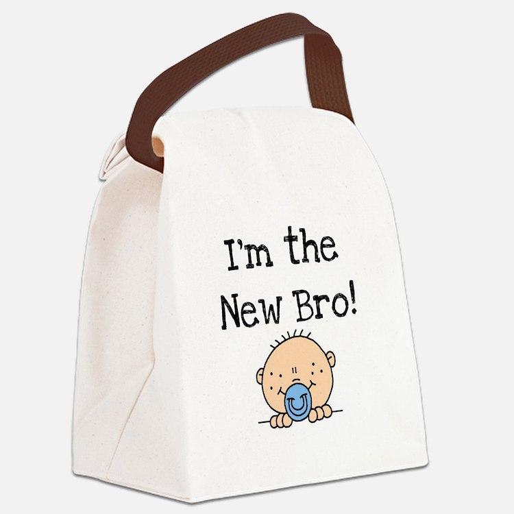 iamnewbro.png Canvas Lunch Bag