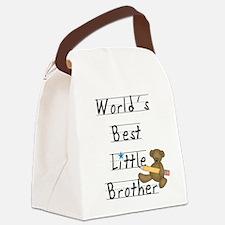 LITTLEBROTHERPENCILTEE.png Canvas Lunch Bag