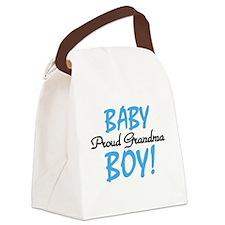 BABYBOYPROUDGRANDMA.png Canvas Lunch Bag
