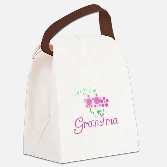 1sttimegrandmaaa.png Canvas Lunch Bag