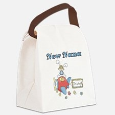 NEWNANAPLANE.png Canvas Lunch Bag