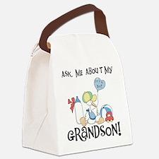 ASKGRANDSONSTORK.png Canvas Lunch Bag