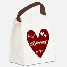 redbesGRAMMIE.png Canvas Lunch Bag