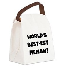 centerbestmemaw.png Canvas Lunch Bag