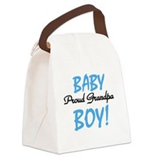 BABYBOYPROUDGRANDpa.png Canvas Lunch Bag