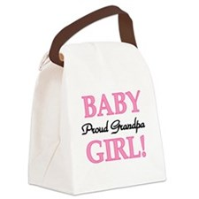 BABYGIRLPRDGPA.png Canvas Lunch Bag