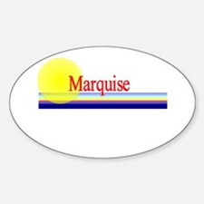 Marquise Oval Decal