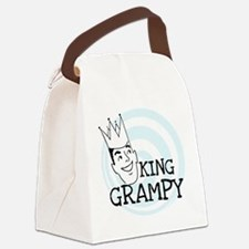 KINGGGRAMPY.png Canvas Lunch Bag