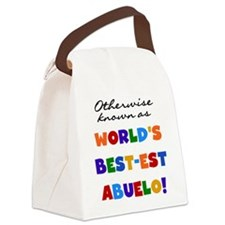 grandcolorsabuelo.png Canvas Lunch Bag