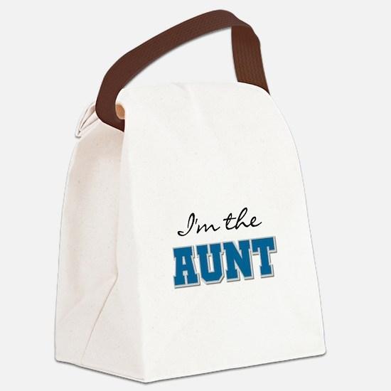 BLUEIMTHEAUNT.png Canvas Lunch Bag