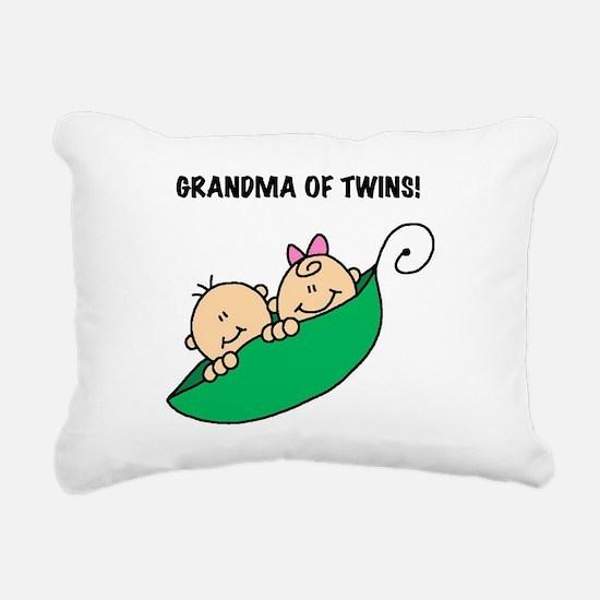 GRANDMAOFTWINSTEE.png Rectangular Canvas Pillow