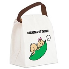 GRANDMAOFTWINSTEE.png Canvas Lunch Bag