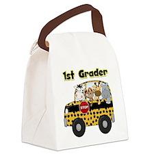 school1stgrader.png Canvas Lunch Bag