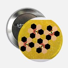 "honey bees 2.25"" Button"
