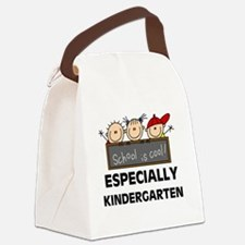 SCHOOLISCOOLKINDERGARTEN.png Canvas Lunch Bag