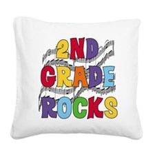 MUSICAL2NDGRADE.png Square Canvas Pillow