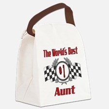 Racing1AUNT.png Canvas Lunch Bag