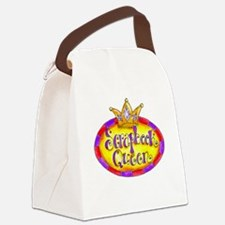 Scrapbook Queen Crown Canvas Lunch Bag