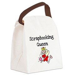 scrapbookqueenstick.png Canvas Lunch Bag