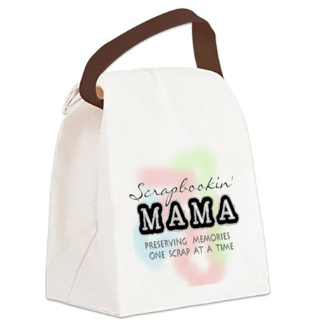 scrapbookinmama.png Canvas Lunch Bag
