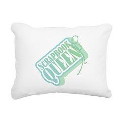 SCRAPBOOKQUEENTAG.png Rectangular Canvas Pillow
