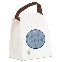 GENUINESCRAPPER.png Canvas Lunch Bag