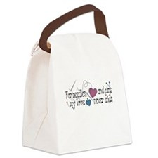blackneedlespins.png Canvas Lunch Bag
